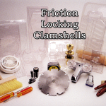 Friction Locking Clamshells